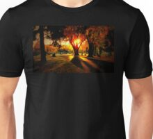 Sunset on Hillside Memorial Unisex T-Shirt