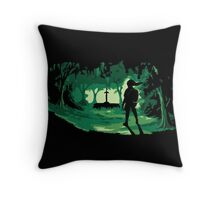 The Master Sword Throw Pillow
