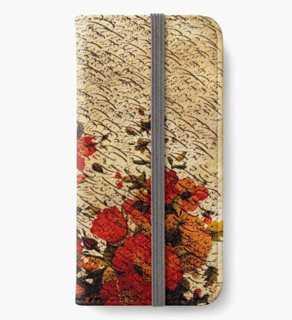 """Classic Calligraphy"" 2 iPhone Wallet/Case/Skin"