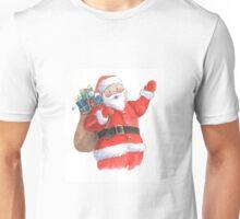 Cute Santa Christmas character Unisex T-Shirt