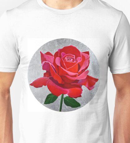 Ingrid Bergman Red Rose Unisex T-Shirt