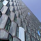 Windows of the Harpa 2 by Marylou Badeaux