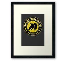 Space Wolves - Warhammer Framed Print