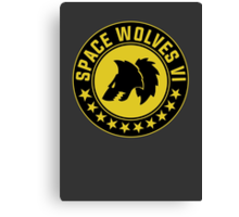 Space Wolves - Warhammer Canvas Print