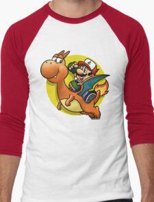 PokeBros Men's Baseball ¾ T-Shirt