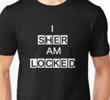 SHERLOCKED - BLACK AND WHITE Unisex T-Shirt