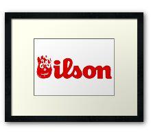 Wilson Framed Print