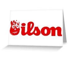 Wilson Greeting Card