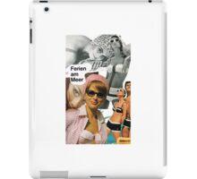 Beach Sixties 60ies 1960s 60's Retro Vintage Mod iPad Case/Skin