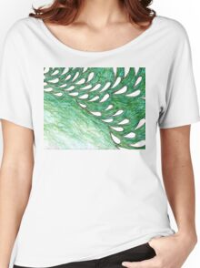 Wallpaper - Droplets Women's Relaxed Fit T-Shirt