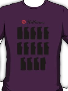 Williams Arcade Cabinets T-Shirt