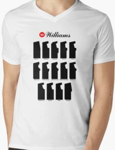 Williams Arcade Cabinets Mens V-Neck T-Shirt