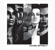 Women Of Mass Effect by tovoo
