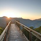 Sunrise at the Dorrigo Skywalk by Rod Kashubin