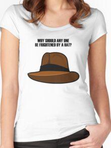 Adventurer Hat Women's Fitted Scoop T-Shirt