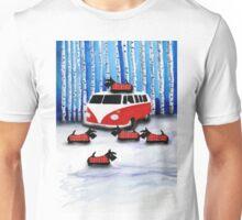 Scottie Dogs 'Snow Fun' Unisex T-Shirt