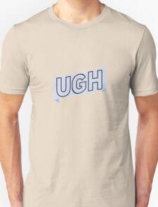 Ugh blue w/o gradient Unisex T-Shirt