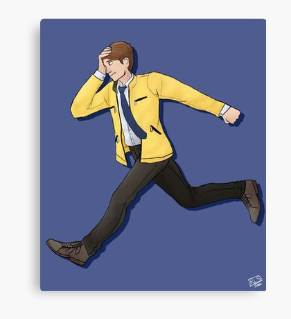 Dirk Gently Canvas Print