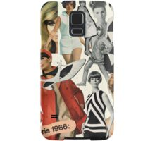 60s, 1960s, Sixties, Mod, Fashion, Retro, Vintage Samsung Galaxy Case/Skin
