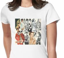 60s, 1960s, Sixties, Mod, Fashion, Retro, Vintage Womens Fitted T-Shirt