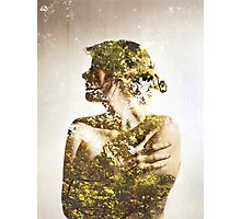 Autumn Leaves - Multiple Exposure. Photographic Print