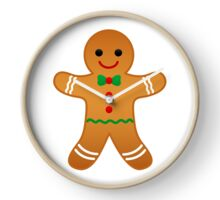 Gingerbread Man Clock