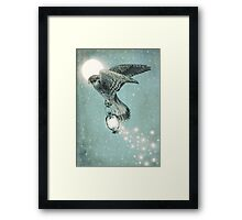 Nighthawk (portrait format) Framed Print