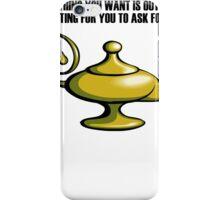 Aladin Lamp iPhone Case/Skin