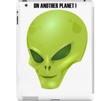 Alien Head iPad Case/Skin