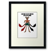 Amazon mage Framed Print