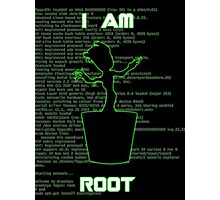 I AM ROOT (simple version) Photographic Print