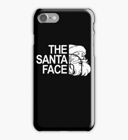 The Santa Face Christmas Holiday Vacation Gift iPhone Case/Skin