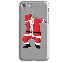 Dabbing Santa Christmas Holiday Vacation Family Gift iPhone Case/Skin