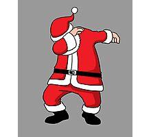 Dabbing Santa Christmas Holiday Vacation Family Gift Photographic Print