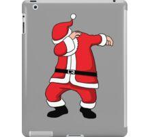Dabbing Santa Christmas Holiday Vacation Family Gift iPad Case/Skin