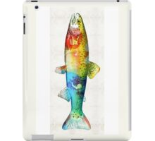 Rainbow Trout Art by Sharon Cummings iPad Case/Skin
