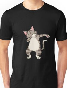Dabbing Cat Dancing Kittens Lovers Rescue Animals Gift Unisex T-Shirt