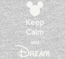 Keep Calm and Dream Kids Clothes