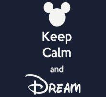 Keep Calm and Dream One Piece - Short Sleeve