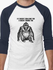 Ape sitting Men's Baseball ¾ T-Shirt