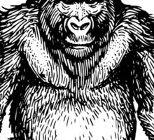 Ape sitting Sticker
