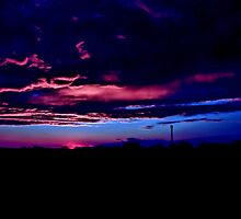 Blue sunset by Tino161