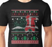 Dabbing Santa Ugly Christmas Holiday Family Snow Vacation Gift Unisex T-Shirt