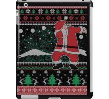 Dabbing Santa Ugly Christmas Holiday Family Snow Vacation Gift iPad Case/Skin