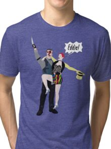 Outlast / Rocky Horror crossover Tri-blend T-Shirt