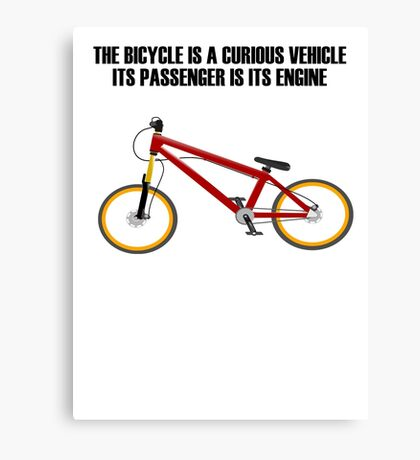 Bicycle Bike Canvas Print