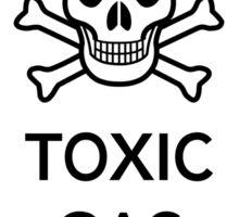Toxic Gas Sticker