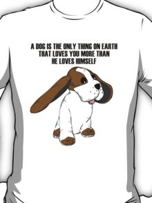Big Earred Dog T-Shirt