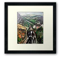 Welsh Countryside Framed Print