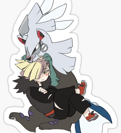Silvally and Gladion Sticker